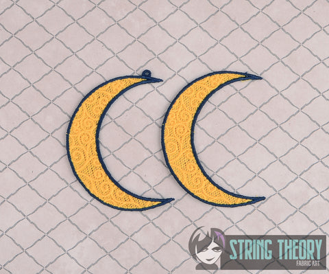 FSL Free Standing Lace Moon 4x4 machine embroidery design