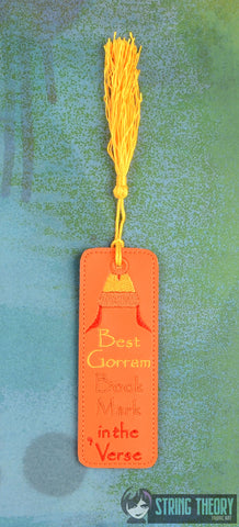 Best Gorram Bookmark in the 'Verse 4x4 ITH machine embroidery pattern