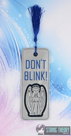 Dr. Space Don't Blink Version 2 Traditional Bookmark 5x7 2 ITH MACHINE EMBROIDERY DESIGN