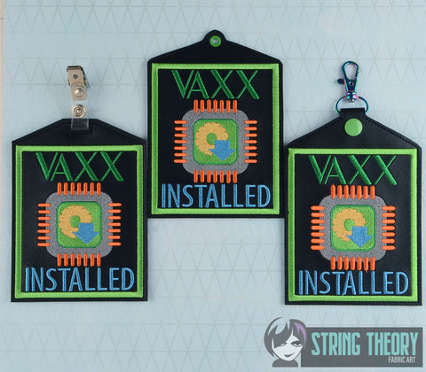 Vaxx Installed 3 patterns eyelet, slit, & snap tab 5x7 ITH machine embroidery design