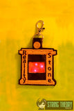 Infinity Stone - Reality Flasher Fob ITH snap tab key fob 4x4 ITH machine embroidery design