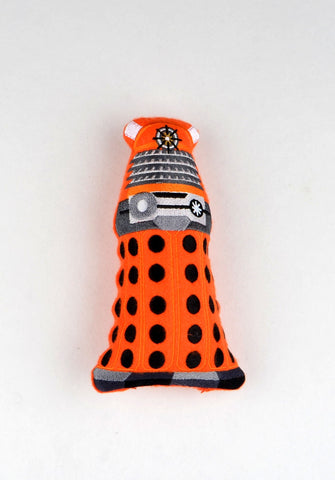 Dalek stuffie stuffy ITH 5x7 machine embroidery design