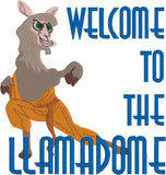 Welcome to the Llamadome machine embroidery design 4x4