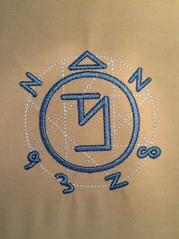 Angel Banishment Sigils Machine Embroidery Design 4x4