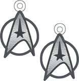 Star Exploration command logo dangle 2ITH 4x4 machine embroidery design