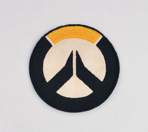 Overwatch logo patch ITH 4x4 machine embroidery design