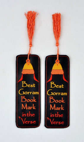 Best Gorram Book Mark in the Verse traditional book mark 2ITH 5x7 machine embroidery design