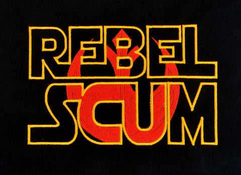 Star Battles Good Team Scum machine embroidery design 5x7