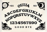 Ouija board 8x12 machine embroidery design