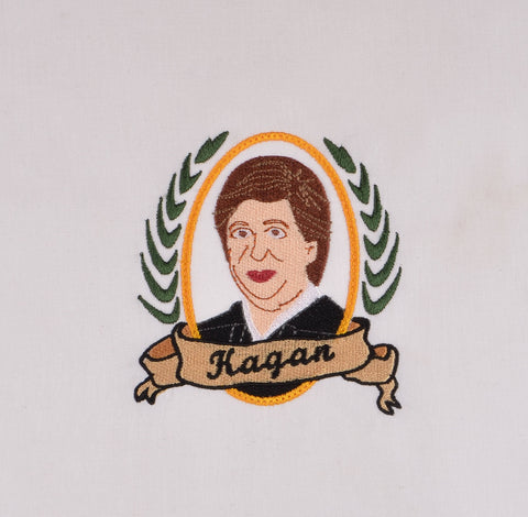 Supreme Court Justice Kagan 4x4 machine embroidery design