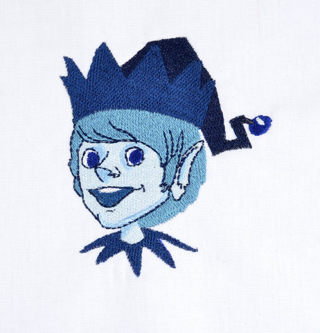 Jack Frost 4x4 machine embroidery design