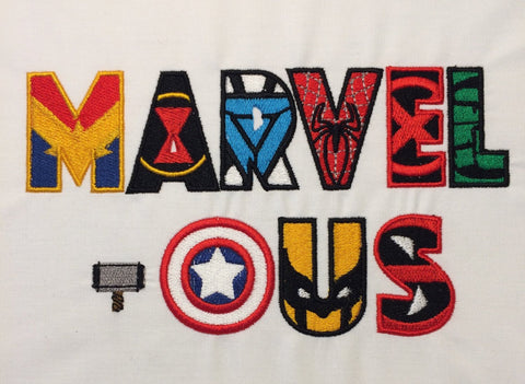 Marvelous machine embroidery design 5x7