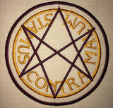 Paranormal Men of Letters Sigils Machine Embroidery Design 4x4