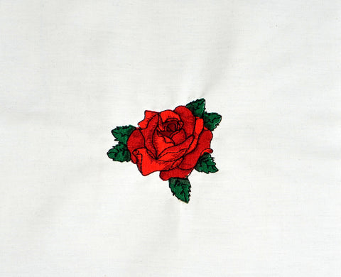 "3"" tattoo rose machine embroidery design 4x4"