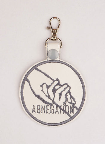 Different Rejection snap tab key fob ITH 4x4 machine embroidery design