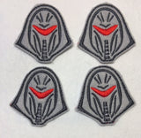 New look Cylon ITH feltie 4ith 4x4 machine embroidery design