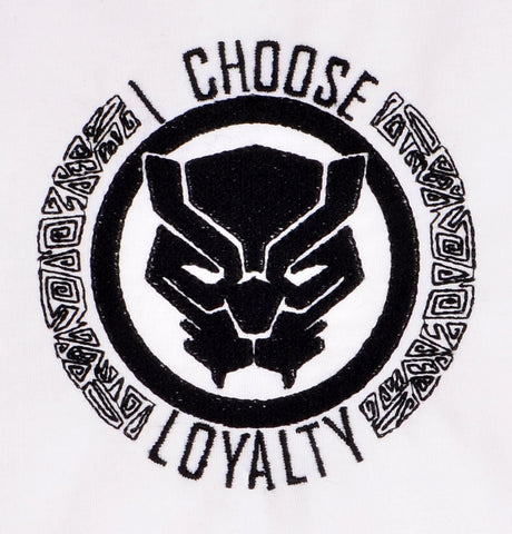 Black Panther I choose loyalty 5x7 machine embroidery design
