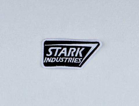 Stark Industries patch ITH 4x4 machine embroidery design