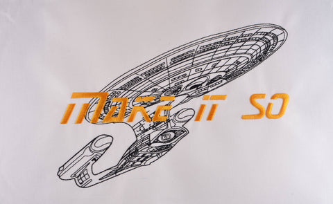 STNG Make it so 8x12 machine embroidery design