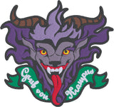Krampus 4x4 machine embroidery design