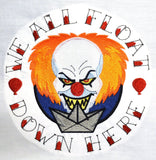 Pennywise 8x12 machine embroidery design