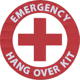 Emergency Hang Over Kit 4x4 machine embroidery design