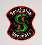 Lakeville Southie Snakes Over-sized Patch ITH 5x7 machine embroidery design