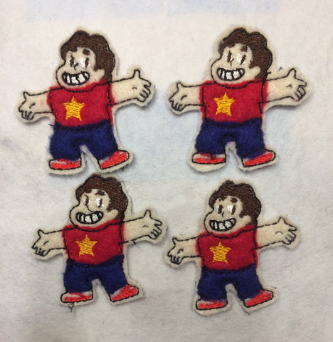 Steven Universe  ITH feltie 4 to the hoop machine embroidery design 4x4