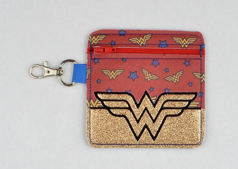 Wonder Woman ITH 4x4 machine embroidery design