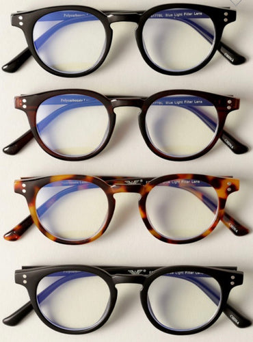 Rounded Blue Light Glasses
