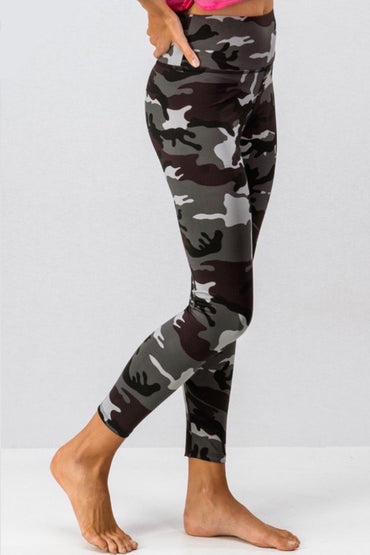 Camo leggings
