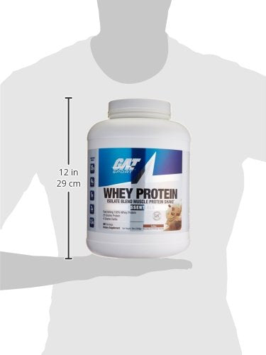 Gat Sport Whey Protein 5 Lbs Coffee 68 Servings