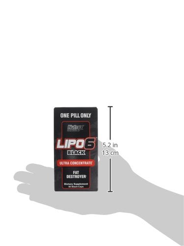 NUTREX RESEARCH LIPO6 BLACK UC 60 CAPS