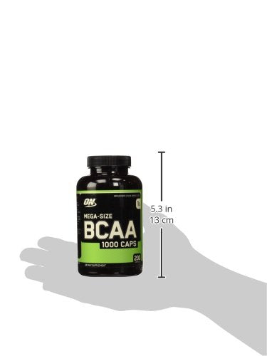 ON BCAA 1000 CAPS 200 CAPSULES