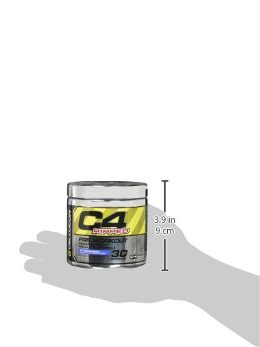 Cellucor C4 Ripped Pre-Workout Icy Blue Razz 30 Servings