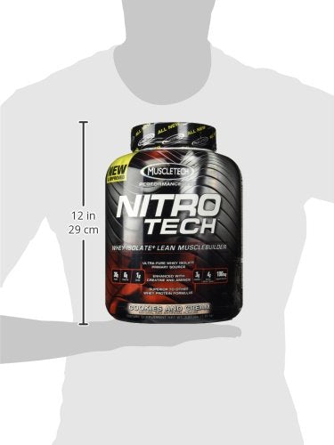 MUSCLETECH NITROTECH PERFORMANCE SERIES 3.97 LB VAN
