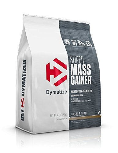 Dymatize Super Mass Gainer 12 lbs Cookies & Cream