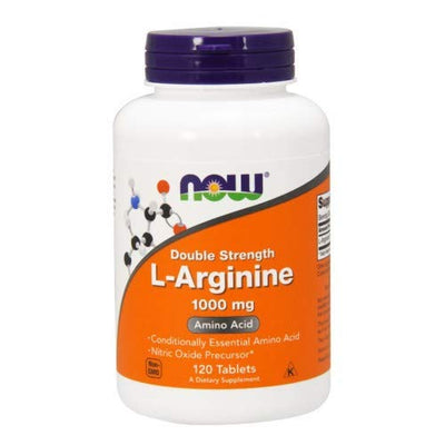 NOW L-ARGININE 1000 MG 120 TABS