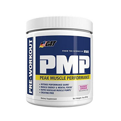 GAT SPORT PMP 30 SERVINGS Raspberry Lemonade - Muscle & Strength India - India's Leading Genuine Supplement Retailer