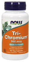 NOW TRI CHROMIUM 500MCG - Muscle & Strength India - India's Leading Genuine Supplement Retailer