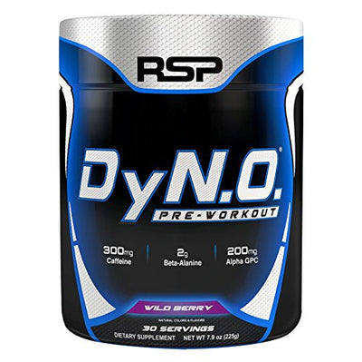RSP DYNO PREWORKOUT 30 SERVINGS WILD BERRY