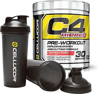 CELLUCOR C4 RIPPED 30 SERVINGS TROPICAL PUNCH