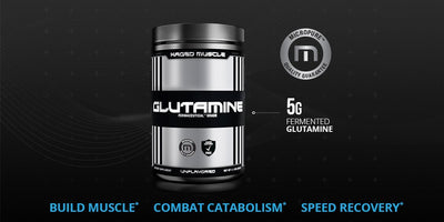 KAGED MUSCLE GLUTAMINE UNFLAVORED 1.1LBS (500GM)