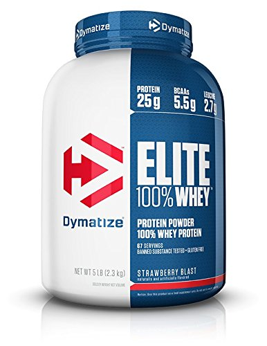 Dymatize Elite Whey 5 Lb Strawberry