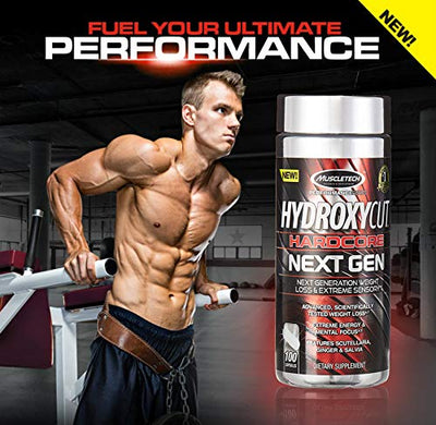 MUSCLETECH PERFORMANCESERIES HYDROXYCUT NEXT GEN 100 CAPS