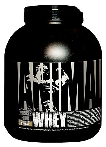 UNIVERSAL ANIMAL WHEY COOKIES & CREAM 4LBS