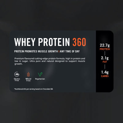 THE PROTEIN WORKS WHEY PROTEIN 360 2.4 KG FRENCH VANILLA