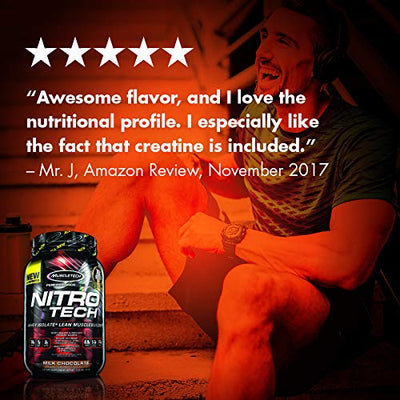 Mt Nitro Tech Whey Isolate Toasted S'mores 2lbs
