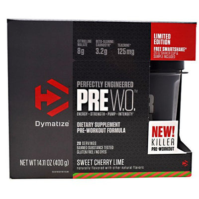 Dymatize Pre W.O Sweet Cherry Lime 20 Servings
