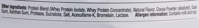 GAT Whey Protein 68 Serving Rich Chocolate 5 lbs